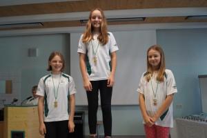 2005 weiblich: 1.Lorena Pollheimer 2.Hannah Kralik 3.Anna-Maria Gritz