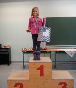 2012 weiblich: 1.Platz Steiner Annika