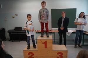 2011 männlich: 1.Platz Benjamin Saraya, 2.Platz Elias Edlinger
