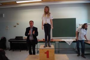 2010 weiblich: 1.Platz Anna Maria Gell