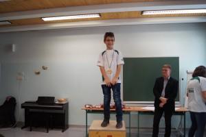 2008 männlich: 1.Platz Solomes Alexandru