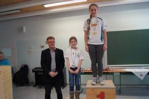 2007 weiblich: 1.Platz Johanna Madler, 2.Platz Bonnie Gardner-McTaggart