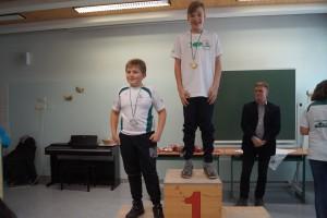 2007 männlich: 1.Platz Paul Schaffer, 2.Platz Maximilian Kogler