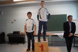 2006 männlich: 1.Platz Gergely Szentgyörgyi, 2.Platz Andreas Solomes