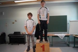 2004/2005 männlich: 1.Platz Pascal Streibl, 2.Platz Bruno Pinter