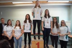 Allgemeine Klasse weiblich: 1.Platz Franziska Weiermair, 2.Platz Alexandra Dröscher, 3.Platz Christina Dröscher, 4.Platz Ramona Höggerl, 5.Platz Anna Gerhart, 6.Platz Valentina Pfeifenberger, 7.Platz Maria Pachernegg