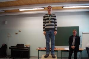 Allgemeine Klasse männlich: 1.Platz Dr.Farkas Ferenc