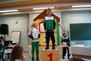 Kinder 2011 m: 1.Benjamin Saraya 2.Maximilian Ferner