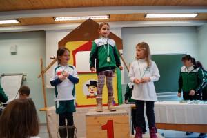 Kinder 2012 w: 1.Zsuzsanna Farkas 2.Mürzl Lydia 3.Gersin Johanna