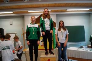 Schüler 2005/2006 w: 1.Lorena Pollheimer 2.Grasser Marie 3.Hannah Kralik